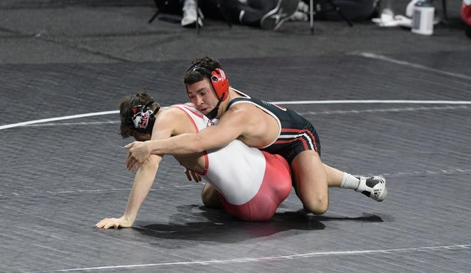 Saul Ervin, a sophomore at Southern Illinois University-Edwardsville, competes in the Mid-American Conference Tournament in Trenton, N.J.