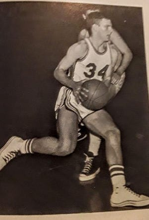 Joe Cougill was a star athlete in high school at Franklin Central.