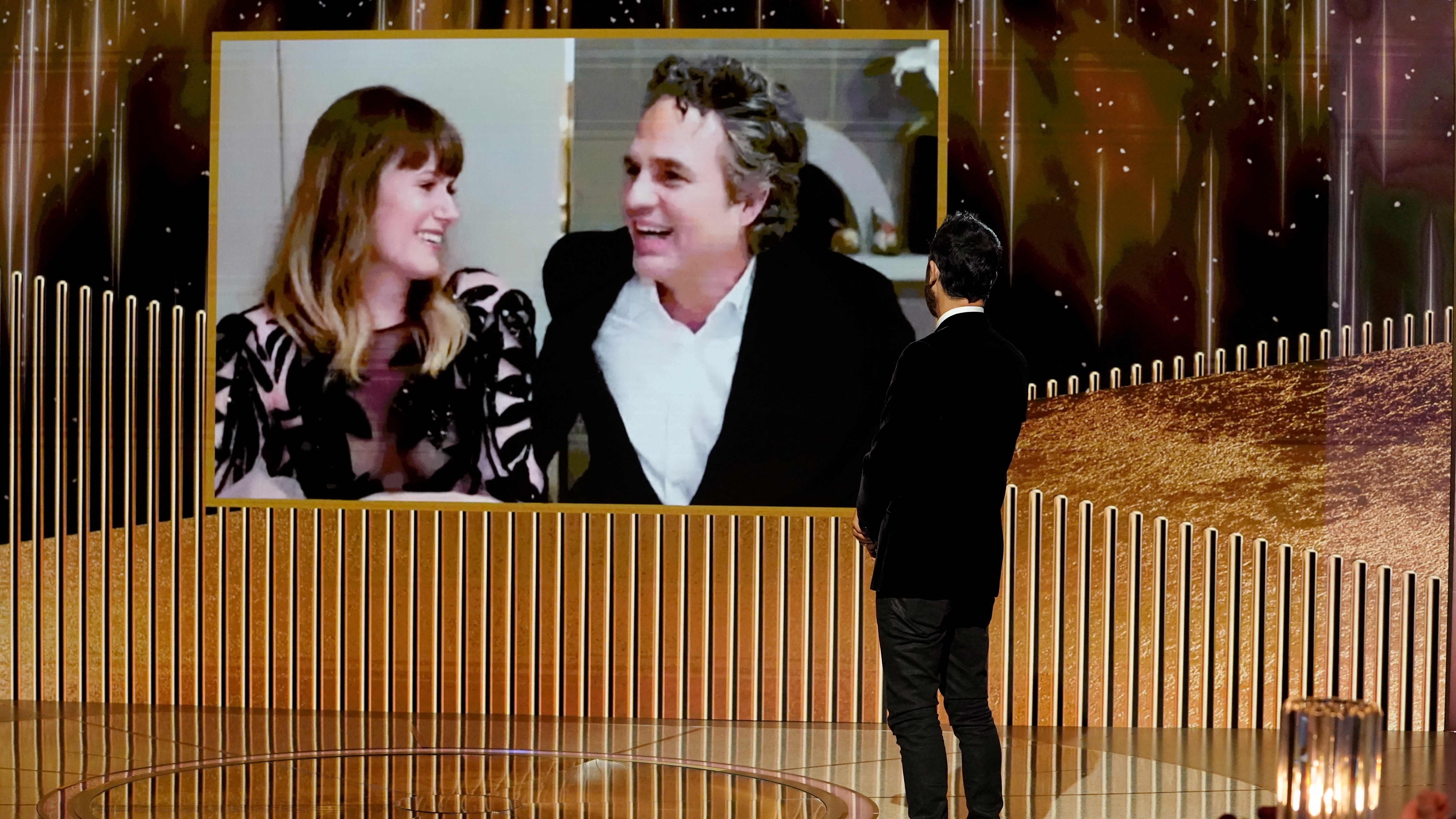Ruffalo wins Golden Globe award for 'I Know This Much Is True'