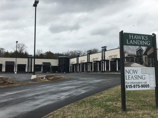 Hawks Landing is hoping to open April 1, on Lebanon Road in Mt. Juliet, according to the property owner.