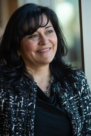 Karen Trujillo on Feb. 20, 2019, after she was named secretary of education for New Mexico. Trujillo had been interim associate dean for research at New Mexico State University and led two educational programs at NMSU.