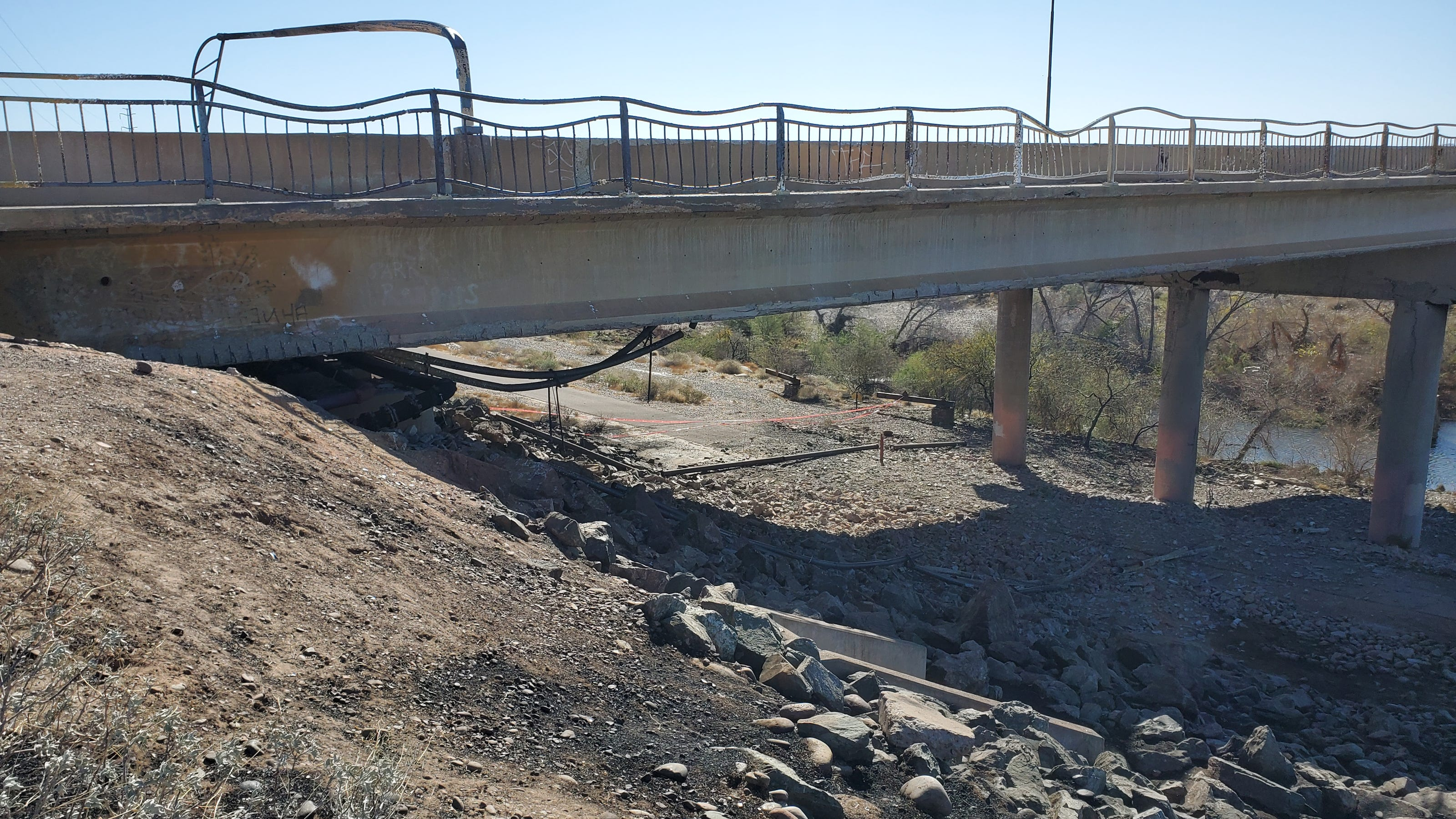 Seventh Street bridge in Phoenix on track to open by September after damaged by massive fire