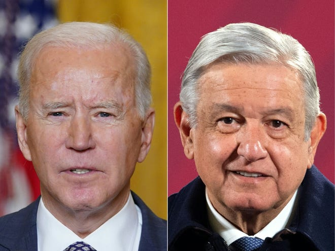 "President Joe Biden attends his second ""virtual"" summit with a foreign leader on Monday when he meets his Mexican counterpart Andres Manuel Lopez Obrador."