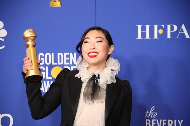 "Awkwafina showed acting chops in 2019's ""The Farewell,"" which earned her a best actress, comedy Golden Globe award and a Gotham Award."