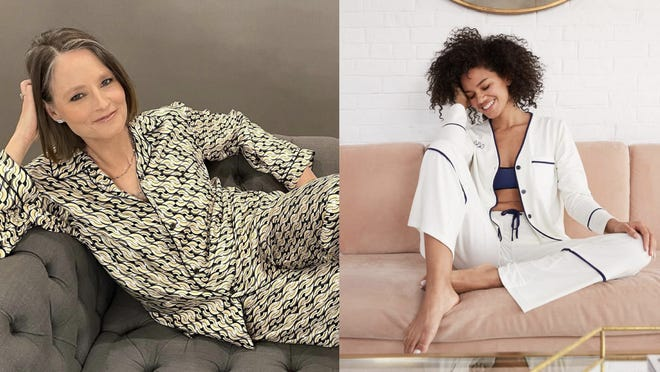 8 pajama sets inspired by celebrities who wore them to the 2021 Golden Globes