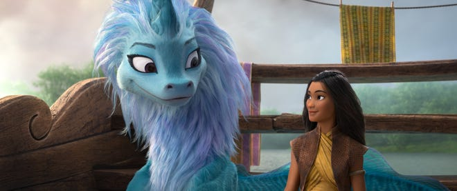 Raya and the Last Dragon': Awkwafina voices perfect, clumsiest dragon