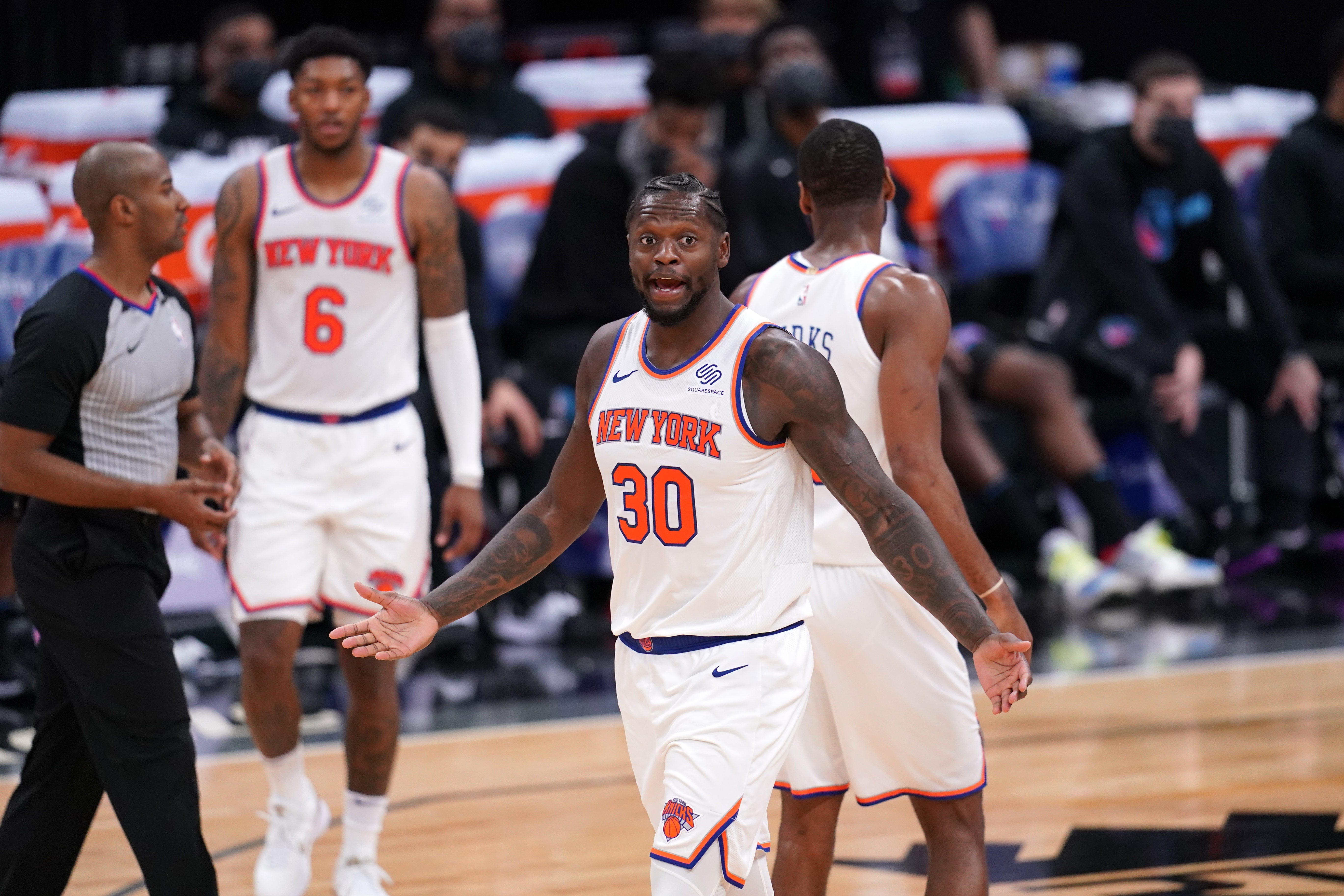 It's official, the New York Knicks are making noise in the NBA