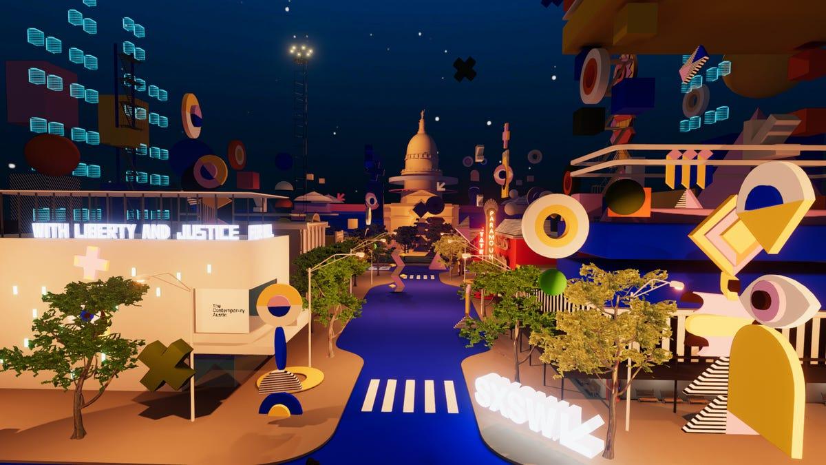 SXSW unveils virtual recreations of downtown Austin for 2021 online fest