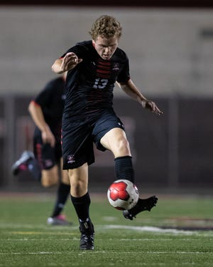 Alex Bethke, a junior striker for Lake Travis, had five goals and two assists on the week to help the Cavs to three wins. His best performance came in a 4-2 win over Austin High, when he had three goals and an assist.