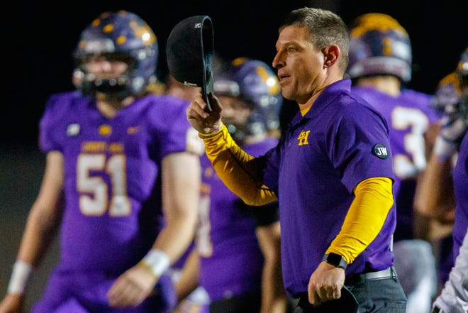 Kent Walker, who took over the Liberty Hill football team on an interim basis when his brother Jeff passed away Nov. 30, was named permanent coach and athletic director by the school board on Monday.