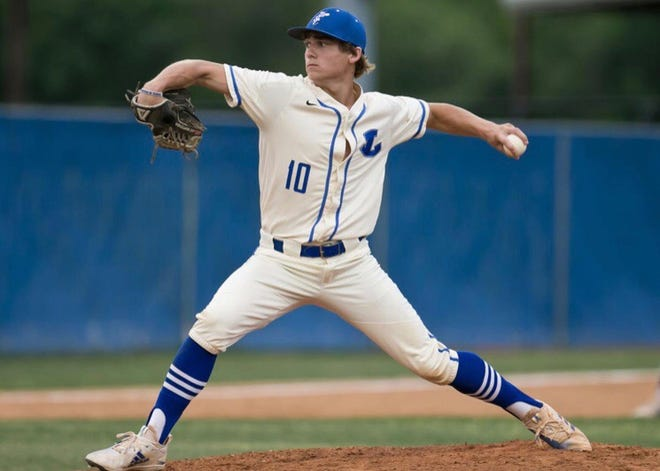 Lampasas pitcher/outfielder Ace Whitehead was an all-state quarterback for the Badgers and the 2019 American-Statesman Central Texas Player of the Year in football. But next year he'll play baseball for the Texas Longhorns.