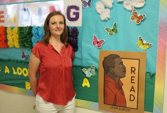 Jill Simon has been named Pine Wood Elementary's Teacher of the Year