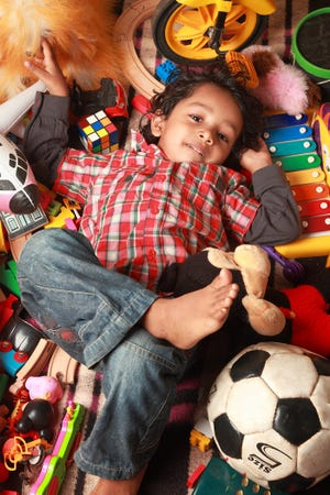 Having fewer toys, can help kids learn to become more creative in coming up with games to play. Getting rid of toys also teaches them about donating and helping other people.