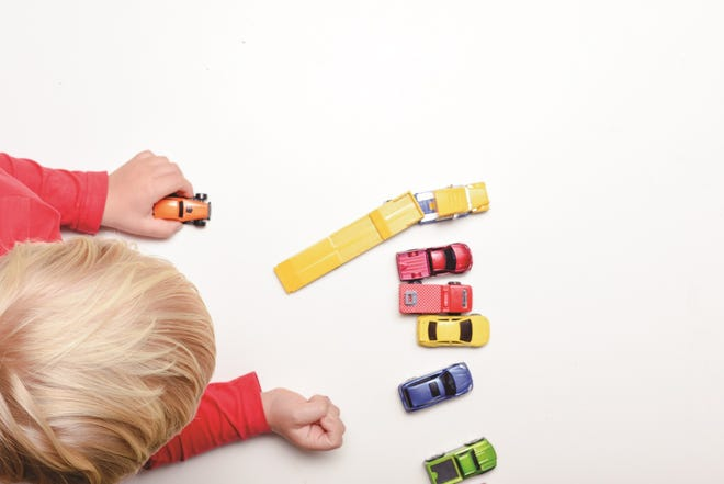Too many toys can overstimulate children and cause anxiety.
