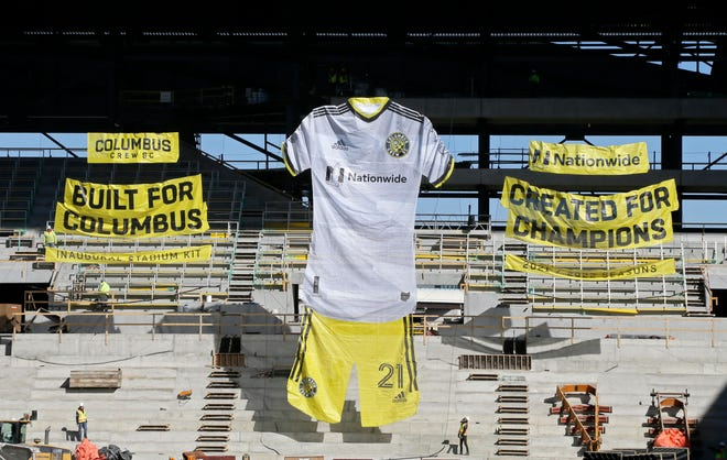 Columbus Crew SC unveiled its primary kit for the 2021 season at an event held at the New Crew Stadium on Tuesday, March 2, 2021.   As part of the unveiling of the Crew's new kit, the stadium's integrated tifo-rigging system located in the Nordecke was also be unveiled. The tifo-rigging system will be operated by pulleys and it will be able to display multiple tifos at once, including tifos as large as 300 feet long.