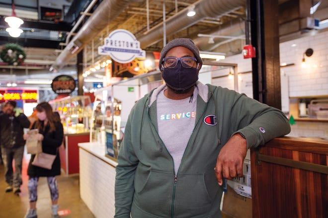 Matt Heaggans, the owner of Preston's: A Burger Joint