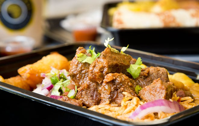 A habo steak bowl from Afra Grill