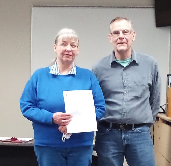 Evelyn Barton has been appointed assistant emergency coordinator for Guernsey County by Guernsey County ARRL Amateur Radio Emergency Service Emergency Coordinator Dick Wayt. Barton joins Mark Jenei, the other assistant emergency coordinator for the county.
