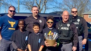 Cherryville police 'adopt' missionary family