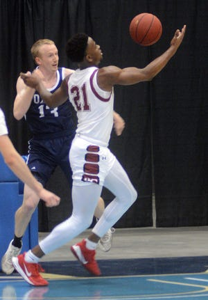 Bethel junior Jaylon Scott had 11 rebounds Monday, setting a new school record for career rebounds in a win over Oklahoma Wesleyan.