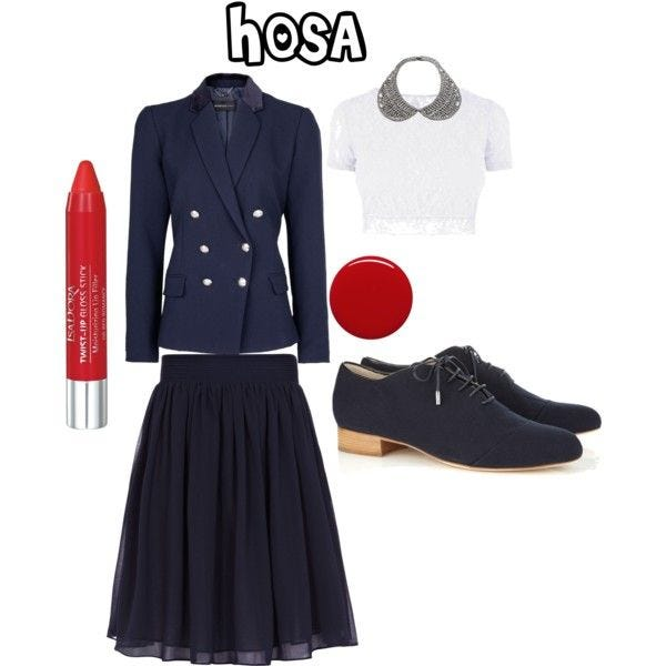 Pictured, HOSA uniform for female students. [CONTRIBUTED PHOTO]