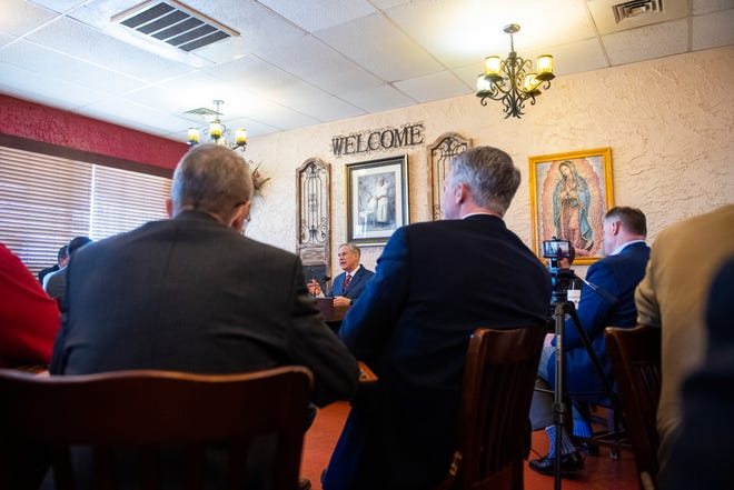 Gov. Greg Abbott announced during an event Tuesday at a Lubbock restaurant that he was lifting statewide coronavirus restrictions March 10.