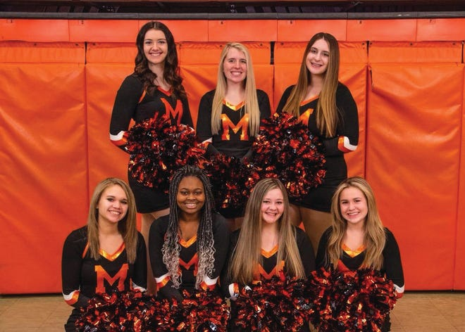 The Macomb High competitive dance team