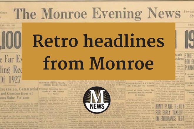 Retro Headlines from The Monroe Evening News