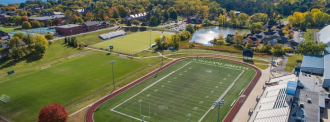 The athletic fields at Hobart and William Smith Colleges in Geneva will see spring sports in 2021.