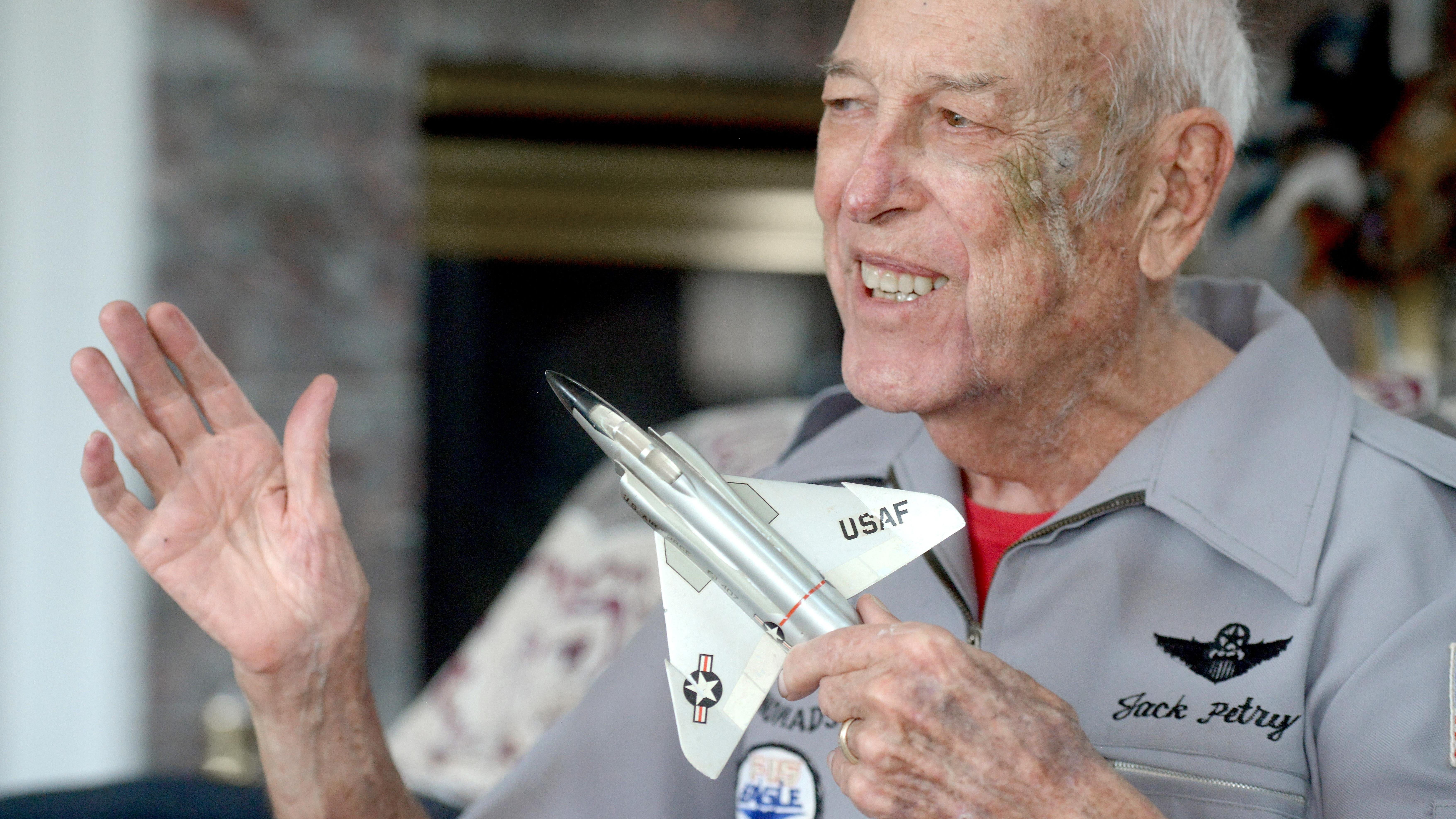 Great fighter pilot, Eglin 33rd commander Jack Petry remembered