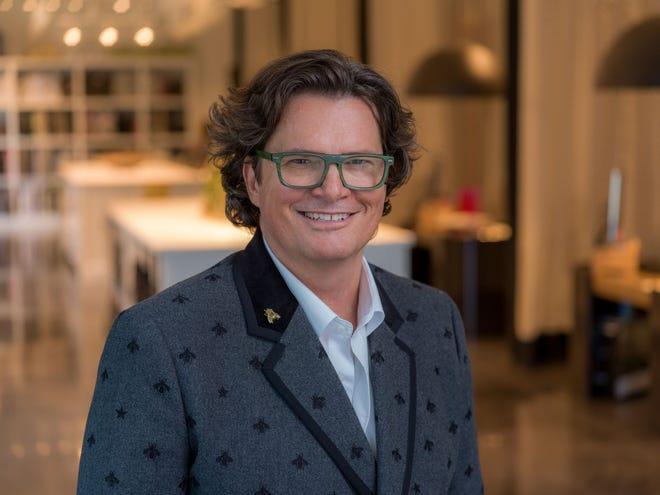 "Designer Chris Goddard, owner of Goddard Design Group,  is one of eight contestants on HGTV's  reality show ""Design Star: Next Gen."" Photo by MARK JACKSON"