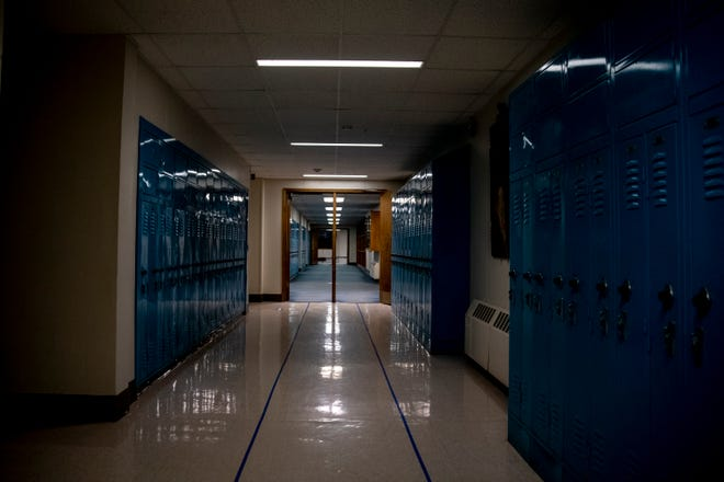 The York School Committee is asking the town's voters to fund a $750,000 district-wide project to upgrade lighting across all of its buildings to LED in 2022. York School Department Business Administrator Zak Harding said most of the fixtures in the schools are eight to nine years old and have begun to reach the end of their life, which is why he thinks it's the right time to replace equipment.