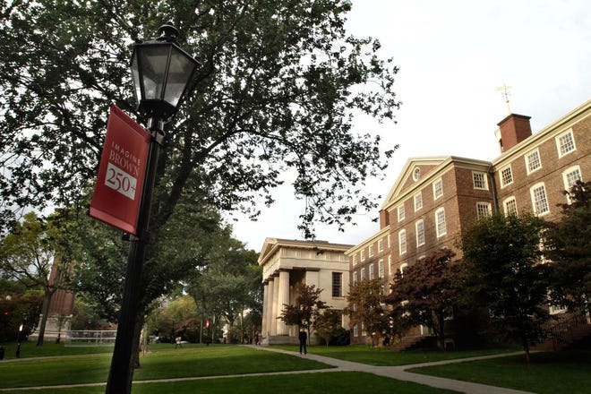 Brown University is dealing with a spike in COVID-19 cases.