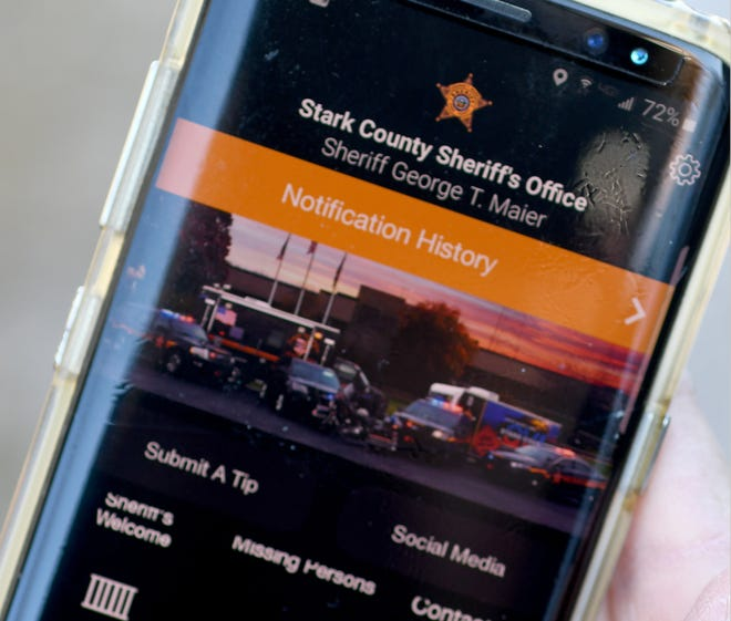 The Stark County Sheriff's Office has a new app available for Android and Apple devices that can answer questions such as who is in the county jail, where sex offenders live and whether a pet has been picked up by the dog warden.
