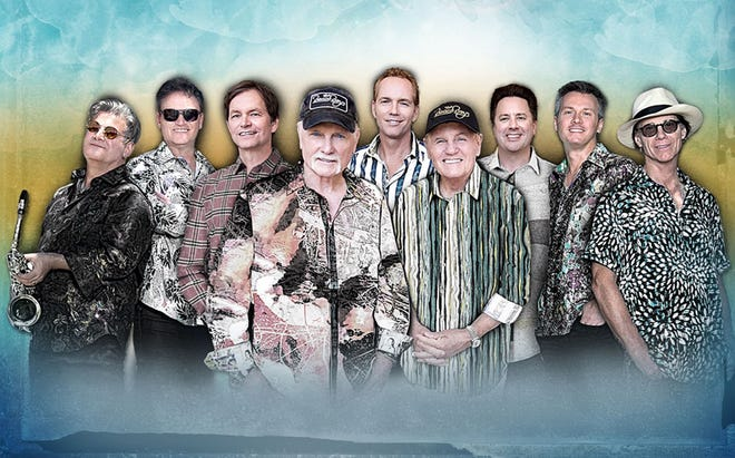 The Beach Boys will perform May 14 at the St. Augustine Amphitheatre.