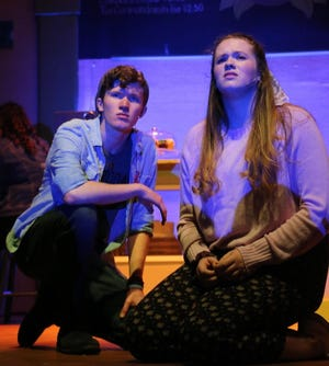 "Siblings Casey and Kiley Berkery will play brother and sister in the Venice Theatre production ""John and Jen"" as part of the theater's reopening schedule."