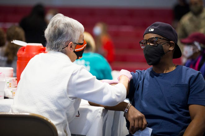 New Hanover partnered up with the board of education to host a COVID vaccination event on Feb. 24.