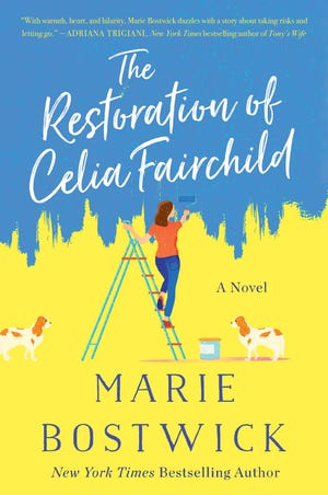 "Otis Library in Norwich and Bank Square Books in Mystic will present a virtual Delicious Discussions author ""luncheon"" with author Marie Bostwick at noon March 11 via Zoom, in celebration of her forthcoming novel ""The Restoration of Celia Fairchild."""