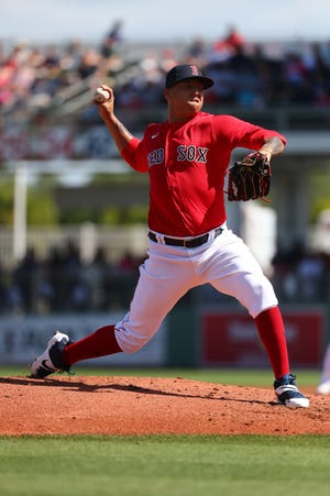 Red Sox top pitching prospect Bryan Mata has been shut down with a small tear of the UCL in his right elbow.