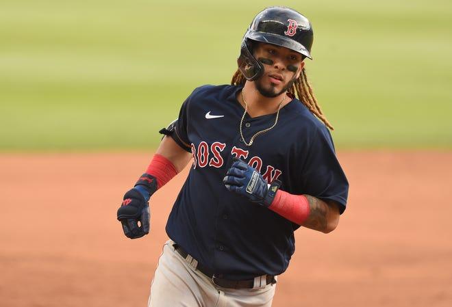 Red Sox prospect Jonathan Arauz.