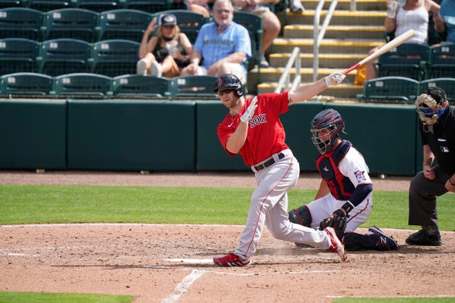 Michael Gettys kept the WooSox alive in the ninth inning Tuesday night with an RBI double, with two strikes and two out.