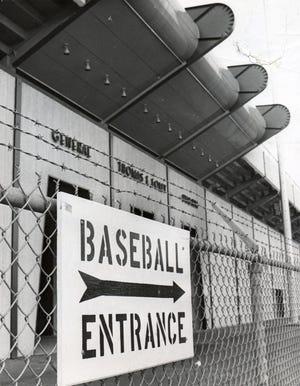 Foley Stadium in 1971.