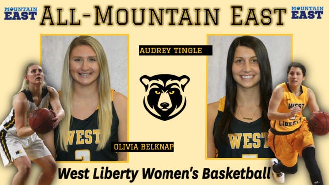 Olivia Belknap and Audrey Tingle have been honored for their play this season.