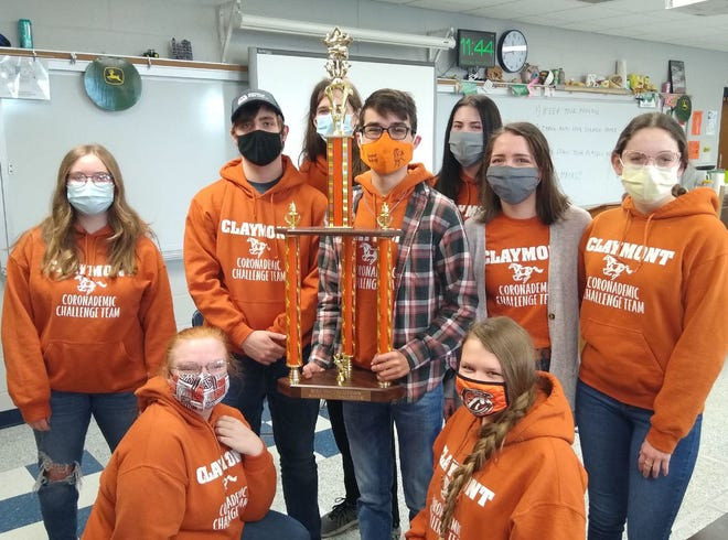 The Claymont Academic Challenge Team won its second straight Inter-Valley Conference title.
