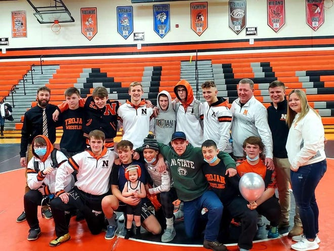 The Newcomerstown High School wrestling team is small, but mighty in 2020-21.