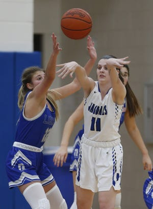 Bradley's Hailey Parsell is expected to be among the returnees for the girls basketball team, which finished 13-8 overall and reached a Division I district semifinal.
