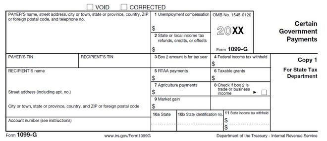 This is an example of a 1099-G tax form. More than 100,000 peopleacross the state have reported receiving a 1099-Gdespite never opening an unemployment claim, aphenomenon that ispart of recent widespread identity-fraud activity, according to central Ohio police departments and state agencies.