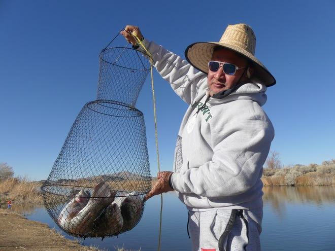 Werny Hernandez, 38, plans to participate in this month's Trout Derby at the Mojave Narrows Regional Park in Victorville.