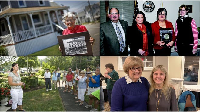 Just five women have served on the Marshfield Board of Selectmen: Faith Jean, Patti Epstein, Katie O'Donnell, Patricia Reilly and Sheila Gagnon.