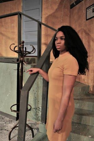 """McMurry senior Symone Fielder said her role as blind Susy Hendrix in McMurry's production of """"Wait Until Dark"""" is the culmination of her four years of study."""